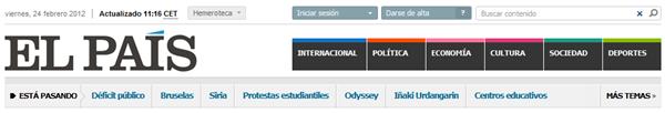El diario El País cambia de look