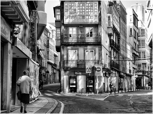 Pequeño Comercio en A Coruña, calle San Andrés.