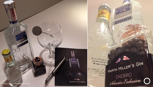 Packing Martin Miller's para elaborar el mejor gin tonic del mundo para emprendedores