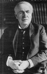 No confío en los expertos. Thomas Alva Edison