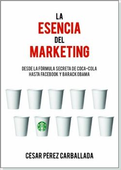 La esencia del marketing, de César Pérez Carballada